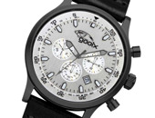 gooix Cliff Black Silver Chrono