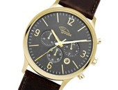 gooix Clint Gold Anthracite Chrono