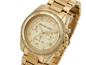Michael Kors Blair Gold Chronograph