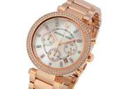 Michael Kors Parker Rose Gold Chronograph
