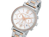 Michael Kors Sofie Rose Gold Bicolor Chronograph