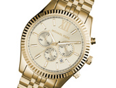 Michael Kors Lexington Chronograph Gold