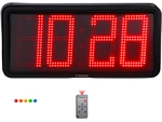 Big LED outdoor/indoor clock - digits 20 cm