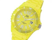 Q&Q Analog Yellow
