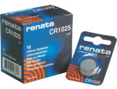 CR1025 RENATA Lithium Button Cell